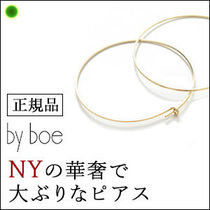 【by boe】フープ ピアス