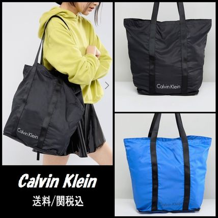 【Calvin Klein】Packable Shopper Bag コンパクト エコ バッグ