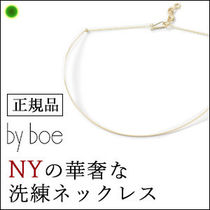 【by boe】チョーカーネックレス