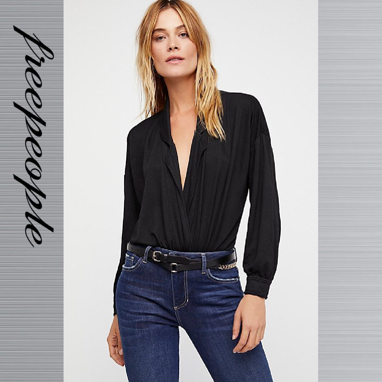 Free People フリーピープル Double Up Embellished Wrap ベルト