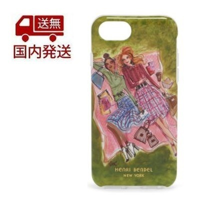 henri bendel PICNIC GIRLS GRAPHIC CASE FOR IPHONE 7/8