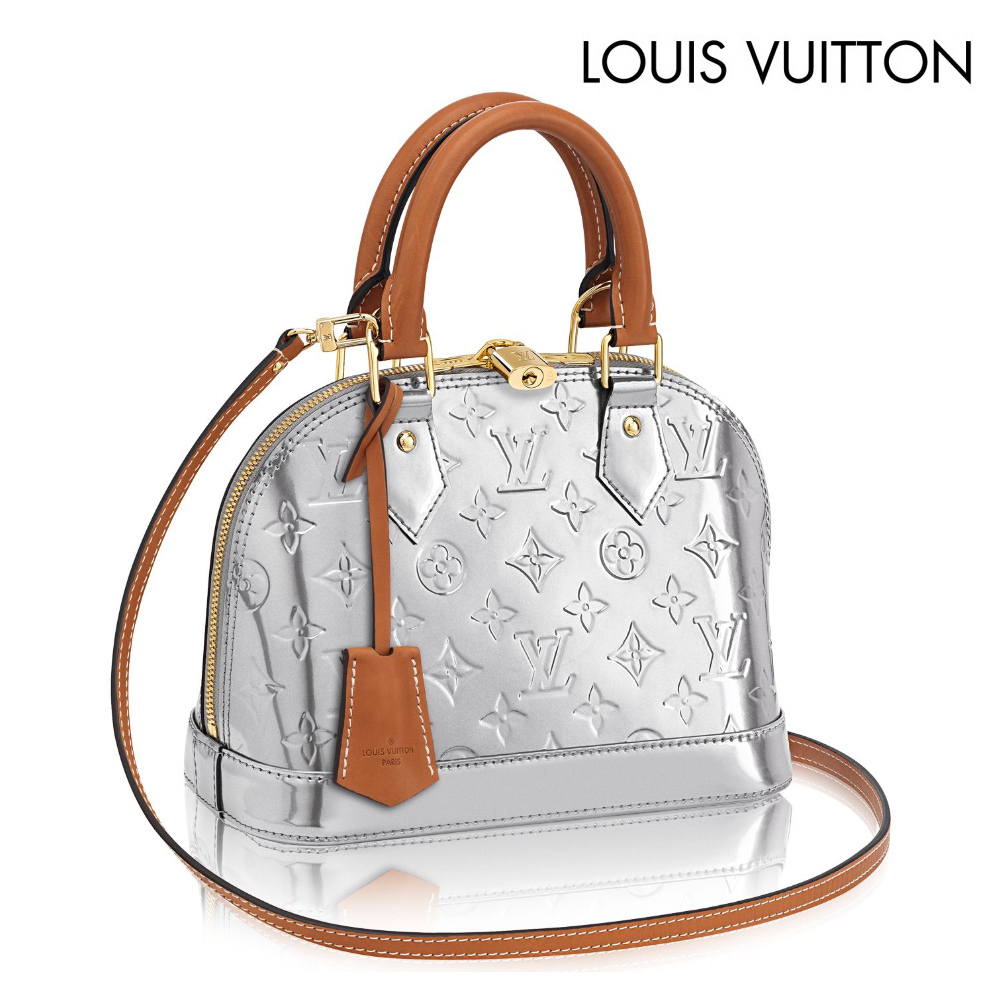 Louis Vuitton☆ALMA BB Monogram vernis