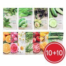 NATURE REPUBLIC★ Real Nature Mask Sheet 10枚+10枚