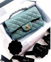 ★2018 CHANEL 最新作★TIMELESS CLASSIC MINI in GREEN