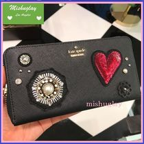 【kate spade】キラキラ可愛い長財布★finer things lacey★