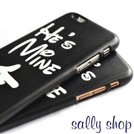 ♡He's mine/She's mine iPhoneケース☆オシャレカワ送料0