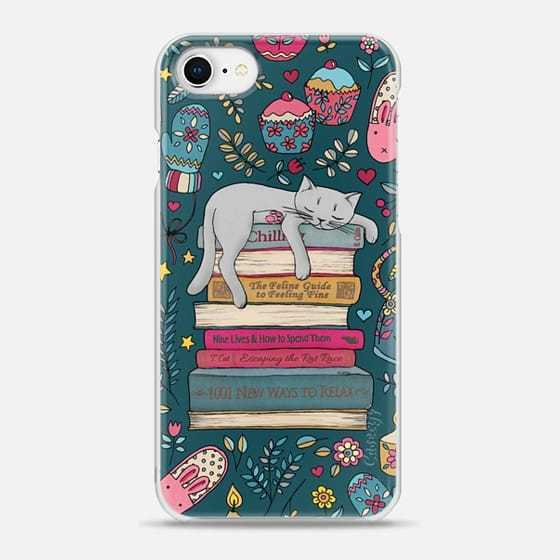 ☆Casetify iPhone スナップケース HOW TO HYGGE LIKE A CAT 2色
