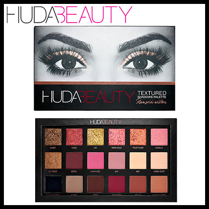 TEXTURED SHADOWS PALETTE ROSE GOLD EDITION アイシャドー