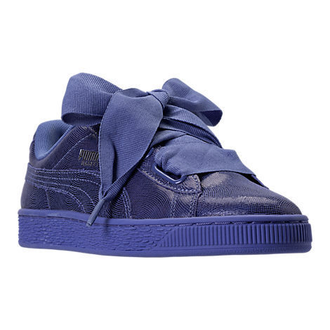 セール☆PUMA BASKET HEART NIGHT SKY(ブルー)