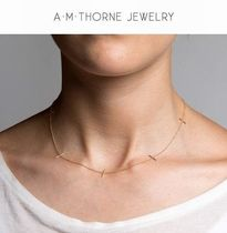 A.M.Thorne(エーエムトーンジュエリー) ネックレス・ペンダント 日本未発売【A.M.Thorne】14k Multi Lineネックレス