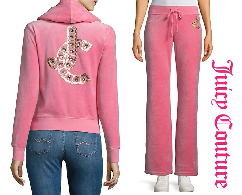 SALE!! 日本未入荷 ★★JUICY COUTURE ベロア セットアップ★★