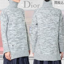 ◆◆VIP◆◆ DIOR   TURTLE NECK   100% Wool セーター / Grey