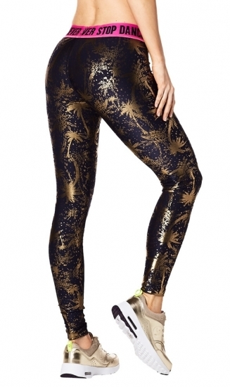 【即納  S】ZUMBA ズンバ Never Stop Shinin' Ankle Leggings