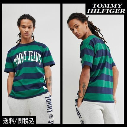 【Tommy Hilfiger】Jeans Collegiate Capsule ボーダー T-シャツ