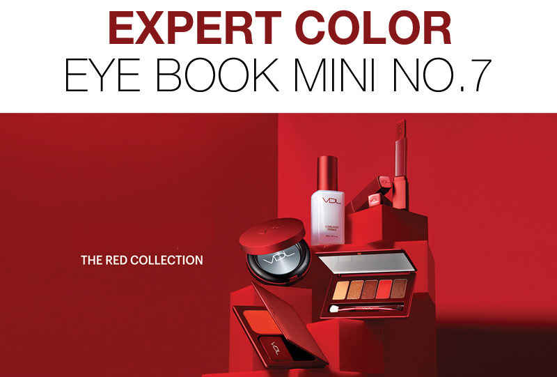 RED COLLECTION♪VDL■EYE BOOK MINI No.7 アイシャドウパレット