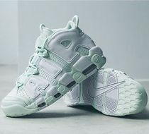 WOMEN☆NIKE AIR MORE UPTEMPO モア アップテンポ BARELY GREEN
