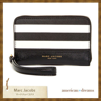 MARC JACOBS iPhone・スマホケース SALE! 即発送★marc jacobs スマホウォレット/リストレット