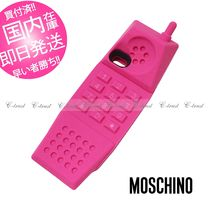 MOSCHINO ピンク電話 iphone5/5s ケース 正規品