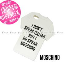 MOSCHINO Tシャツ iphone5/5s ケース 正規品
