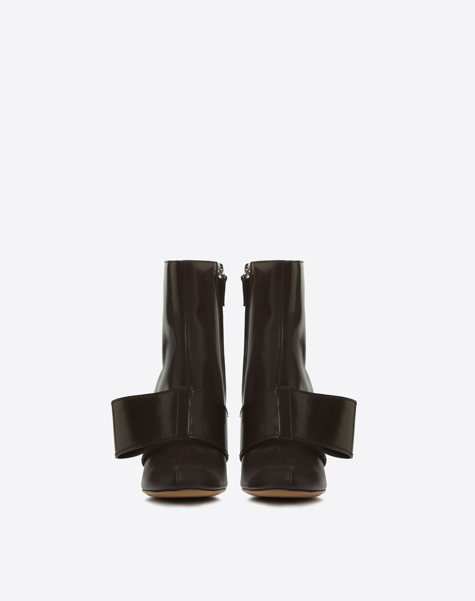 【17AW NEW】VALENTINO_women /SHOE BOOT WITH BOW DETAILING
