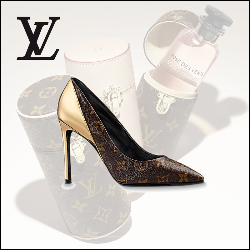 LOUIS VUITTON ESCARPIN CHERIE パンプス