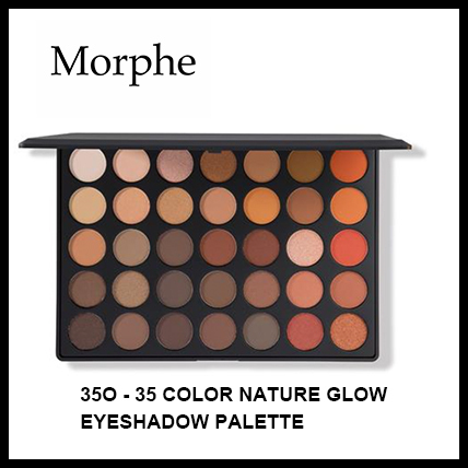 【Morphe】35O - 35 COLOR NATURE GLOW EYESHADOW PALETTE