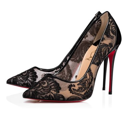 安心送料関税込! Christian Louboutin, Follies Lace Patent 100