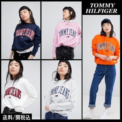 【Tommy Hilfiger】人気!Jeans Collegiate スウェット シャツ♪