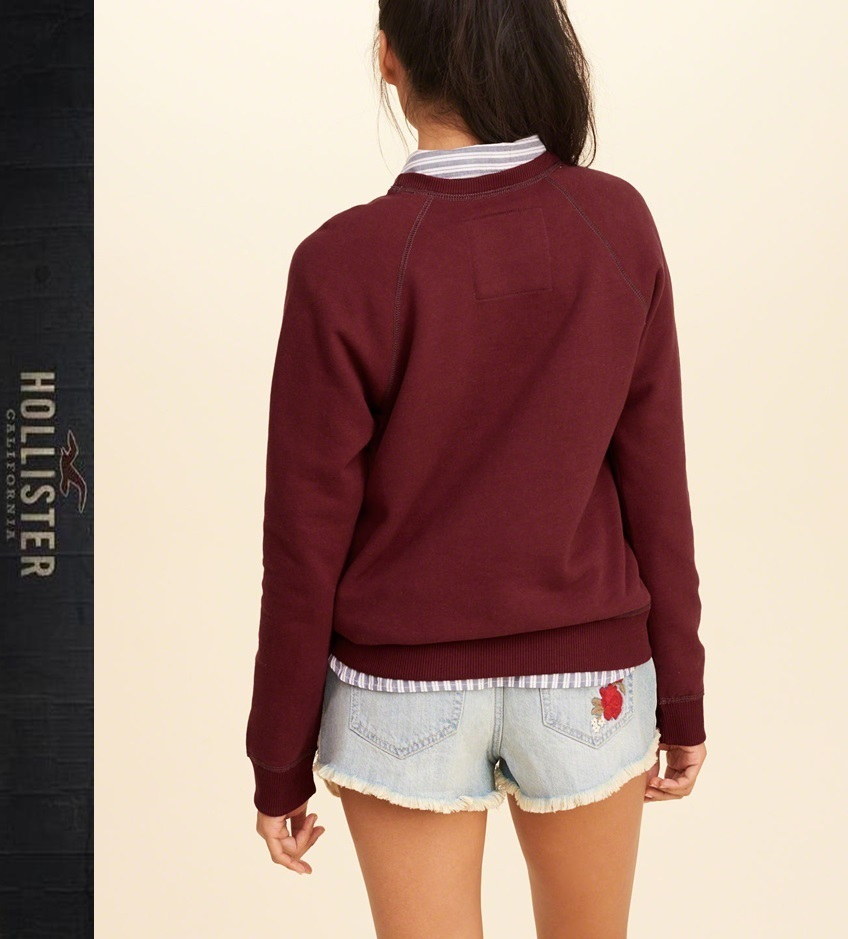 ★送料込★Hollister★Iconic Logo Graphic Sweatshirt★