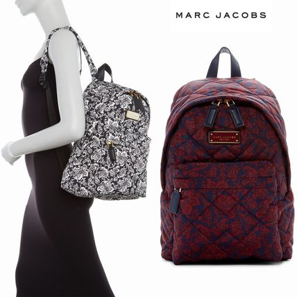 437f593a1b9f MARC JACOBS バックパック・リュック おしゃれ柄!セール☆ Marc Jacobs ナイロン バックパック ...