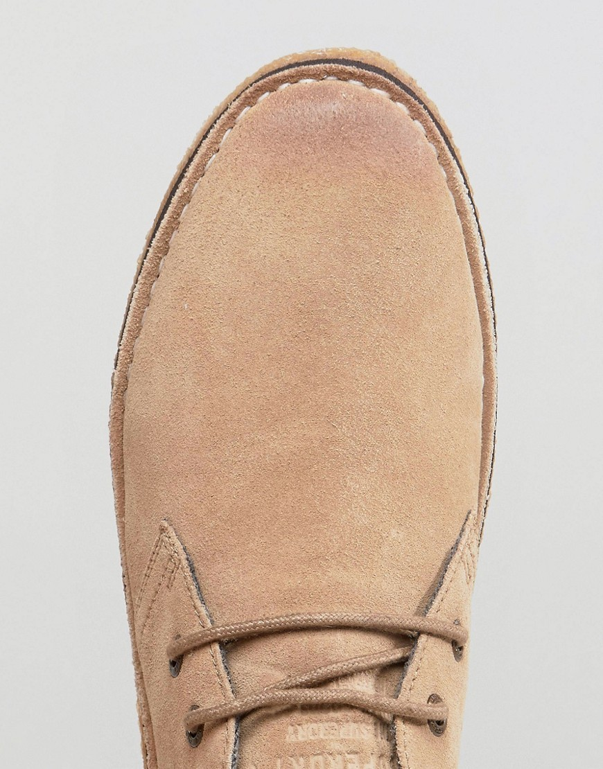 ○送料込○ Superdry Suede Desert Boot In Tan