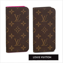 Louis Vuitton★IPHONE X FOLIO 2色