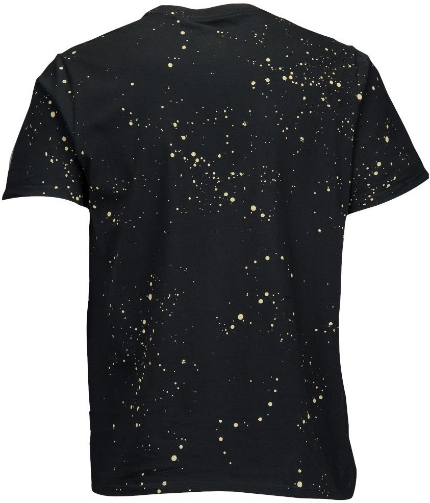 NIKE GRAPHIC T-SHIRT REFRACTIVE ( BLACK×GOLD )