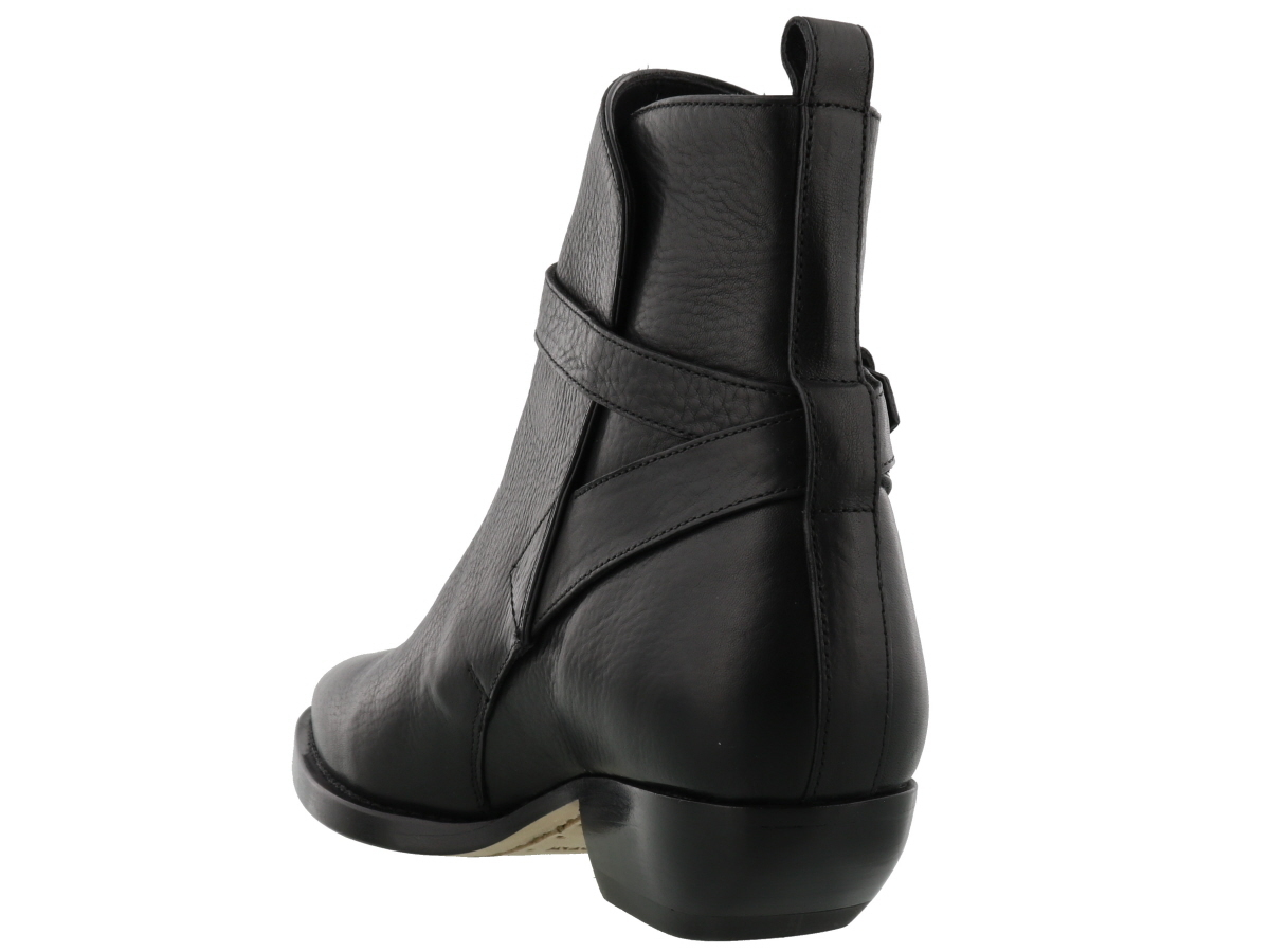 【関税負担】 SAINT LAURENT SIGNATURE ANKLE BOOT