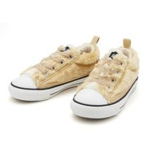 国内配送 CONVERSE CHILD ALL STAR N AMFUR SLIP OX ブラウン