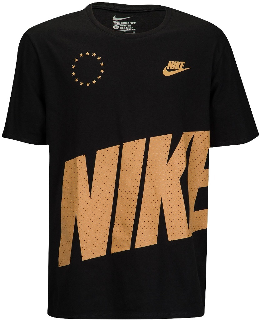 NIKE GRAPHIC T-SHIRT CIRCLE STARR ( Black/Gum )