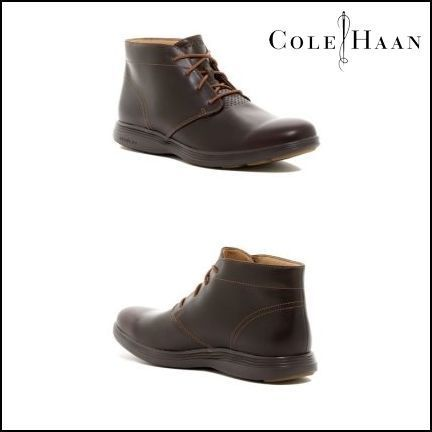 Sale★Cole Haan Grand Tour Leather Chukka★Men's Boot