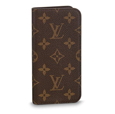 ★LOUIS VUITTON★ IPHONE X・フォリオ 2色