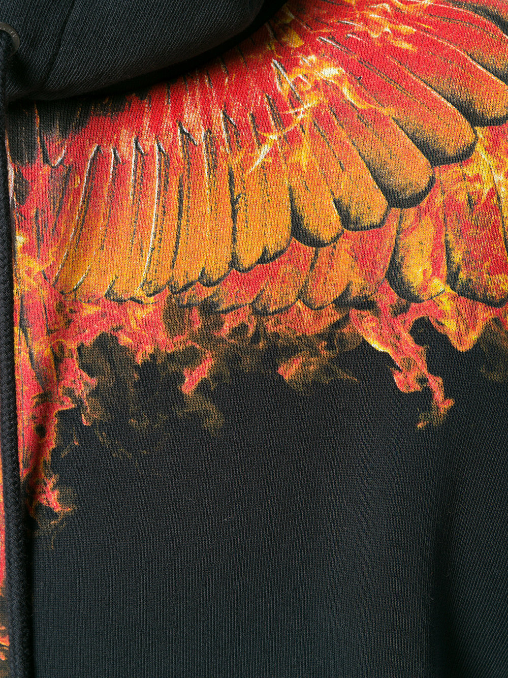 【関税/送料込】【Marcelo Burlon】Flame Wings パーカー