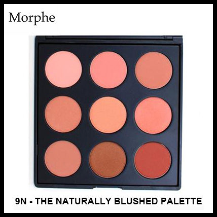 9N - THE NATURALLY BLUSHED PALETTE【チークパレット】