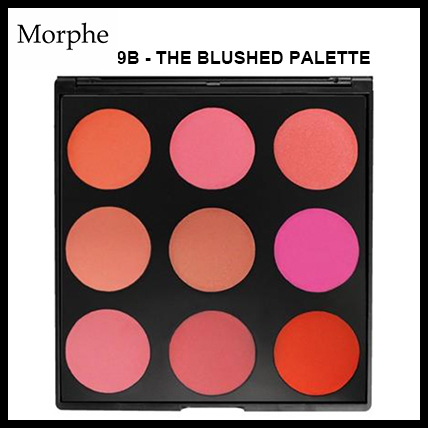 9B - THE BLUSHED PALETTE【チークパレット】