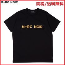 17AW M+RC NOIR(マルシェノア)  AMBRE FRONT LOGO TEE