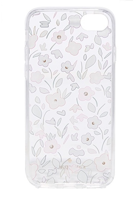 【国内発送】kate spade★Jeweled Floral iPhone7/8 Case