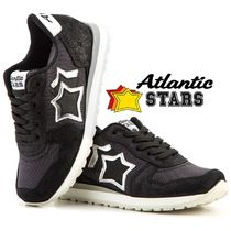 今季新作★19cm〜23cm★Atlantic STARS★  KIDS BLACK/SILVER