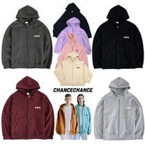 ☆CHANCECHANCE☆CEC Hood Zipup☆4color☆