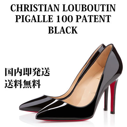 Christian Louboutin パンプス 【即発】【国内発送】PIGALLE 100 PATENT 人気モデル 美脚に!!