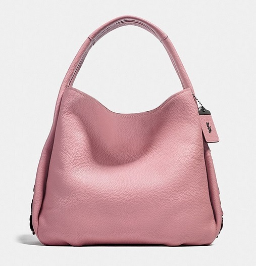 Coach ◆ 25657 Bandit hobo 39 with tea rose detail