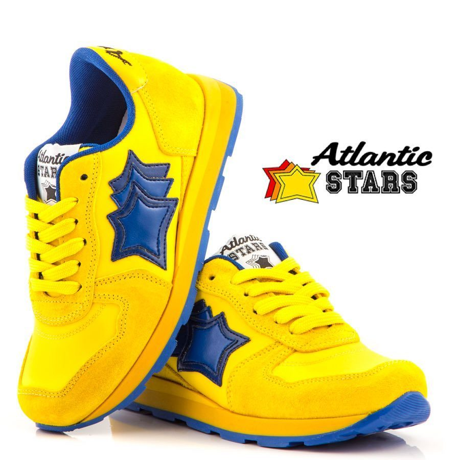 今季新作★24cm〜27cm★Atlantic STARS★YELLOW 送料無料
