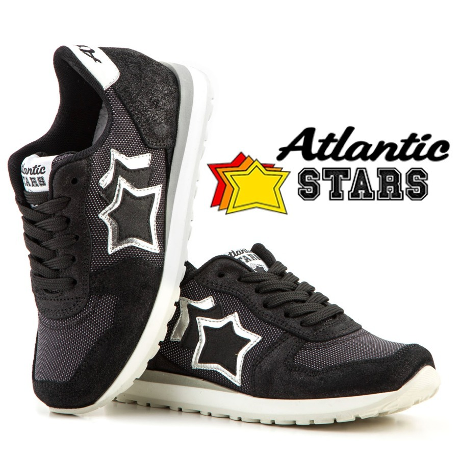 今季新作★24cm〜27cm★Atlantic STARS★ BLACK/SILVER送料無料
