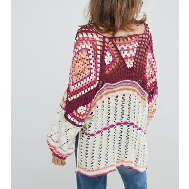 Free People◆Call Me Crochet セーター